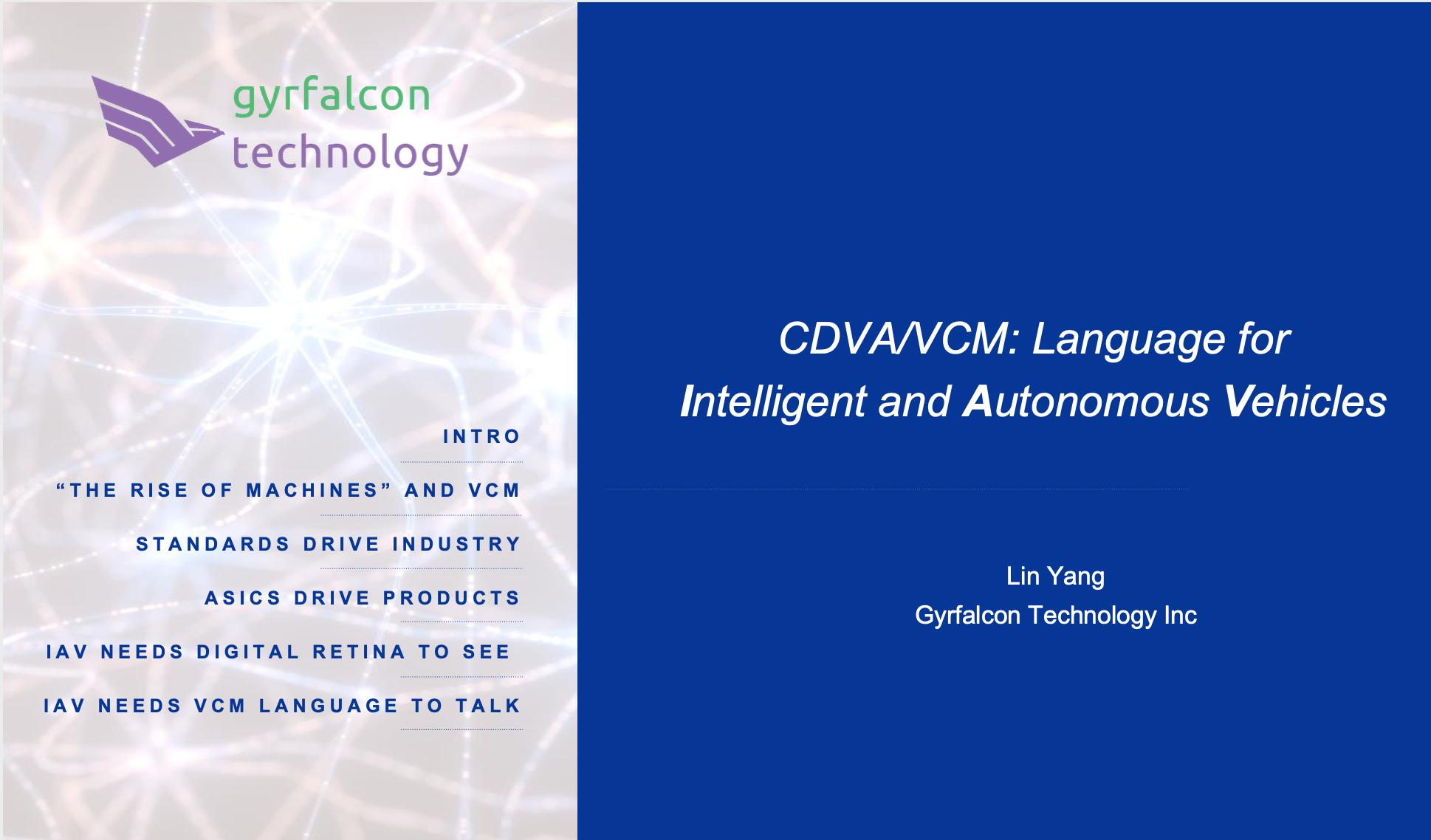 VCM Presentation